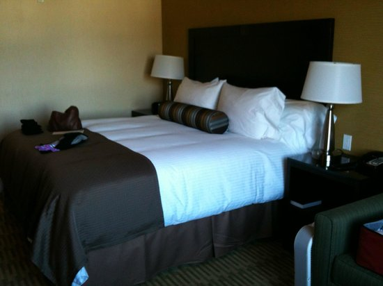 The Oaks Hotel:                   Soft and Comfy King!