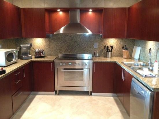 Oasis Beach Tower Apartments:                   kitchen