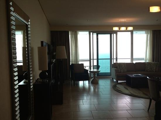 Oasis Beach Tower Apartments:                   look at the ocean view