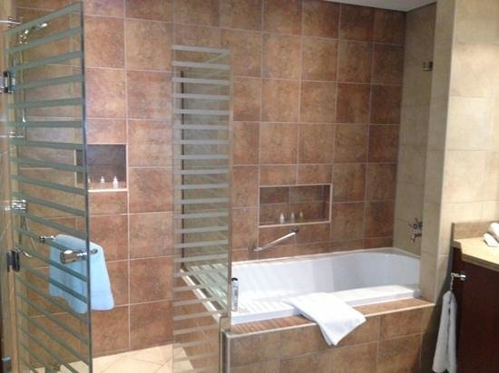 Oasis Beach Tower Apartments:                   shower