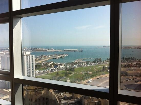 Fraser Suites Doha: view from the room