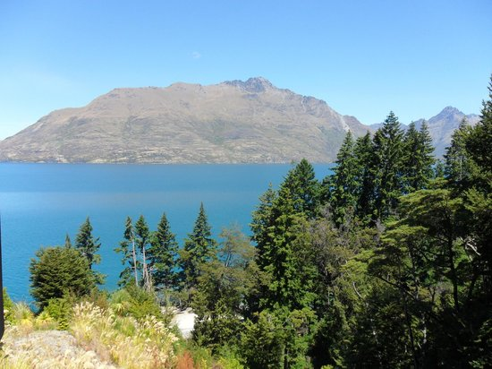 Heritage Queenstown:                   View from Forest Wing Balcony Room F201