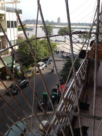 The Local - Riverside: Looking toward Sisowath Quay from the Balcony room