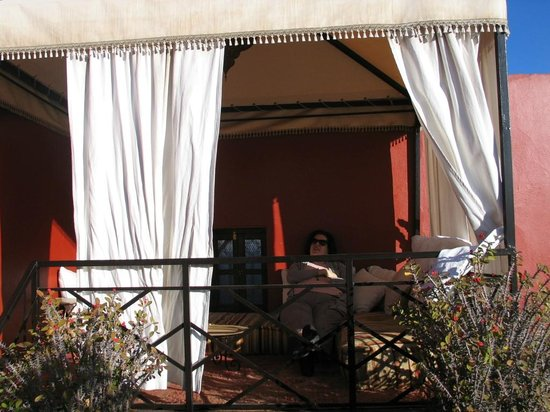 Riad Argan:                   rooftop terrace