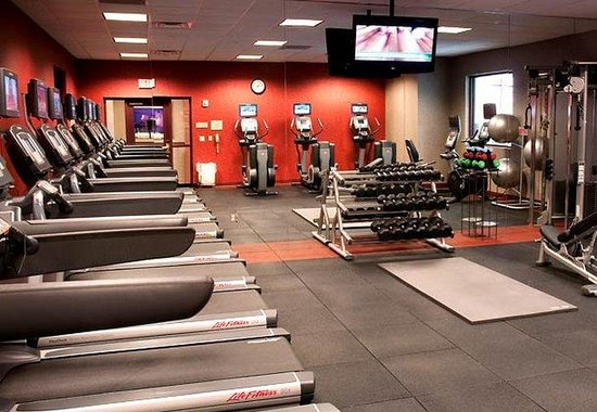 Chicago Marriott Northwest: Fitness Center