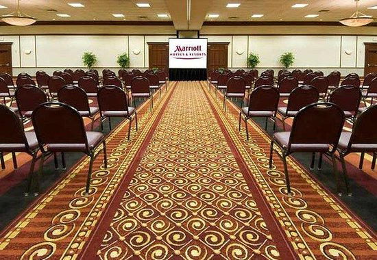 Chicago Marriott Northwest: Prairie Stone Ballroom – Theatre Style