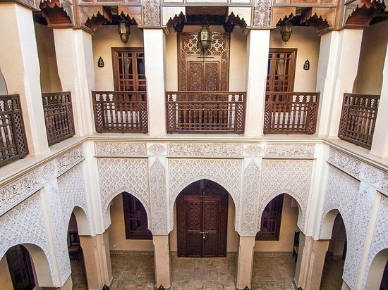Riad Kniza:                   Interior