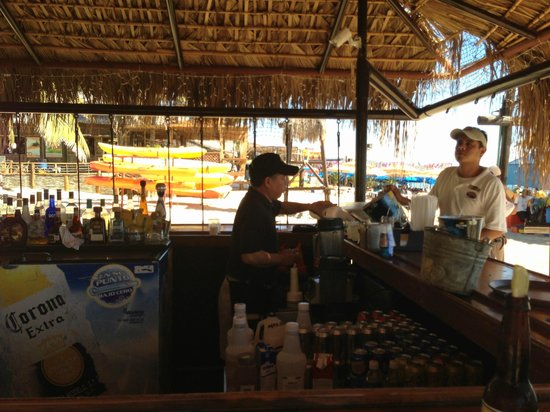 Cabo Villas Beach Resort:                   Swing Bar