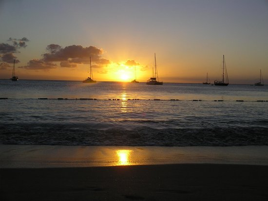 The Landings St. Lucia: Another perfect sunset