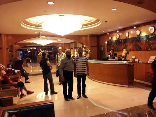 The Country Club Hotel:                                     Reception
