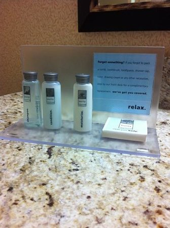 Hampton Inn Los Angeles / Orange County / Cypress: bathroom amenities
