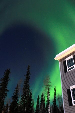 Dale and Jo View Suites:                   Dale and Jo's, under the Aurora Borealis