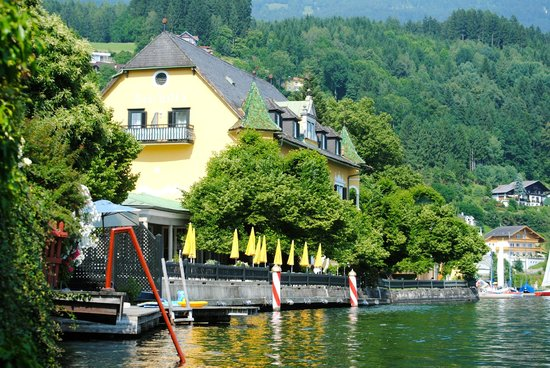 Millstatt, Austria:                   View from the Villa Tacoli