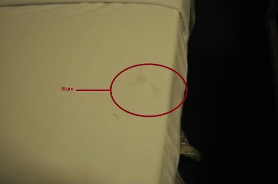 Days Inn Fort Lauderdale Airport North Cruise Port: Close up of stain