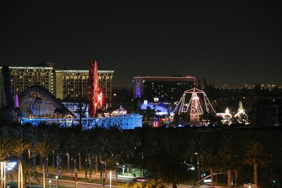 Sheraton Park Hotel at the Anaheim Resort: Disney California Adventure Park from room