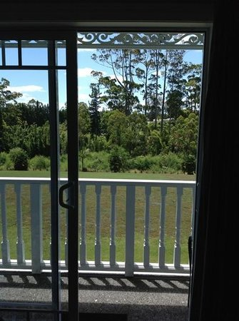 Kerikeri Park Motel:                                     view from the top floor room