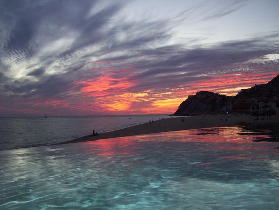 Grand Solmar Land's End Resort & Spa:                                                       Sunset