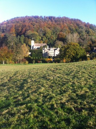 Uley, UK:                                     Manor in the Fall