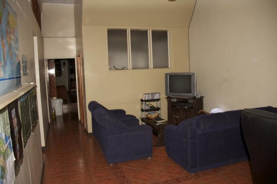 B&B Grecia: TV area