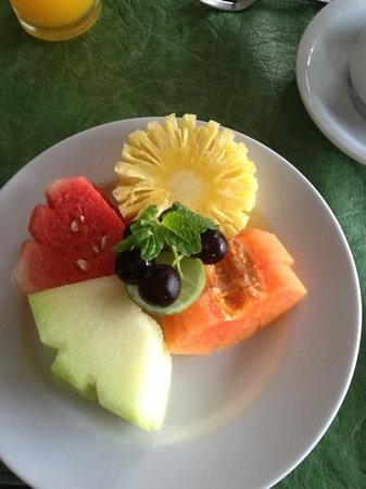 Bali Ayu Hotel:                                     served every morning at the bar for breakfast