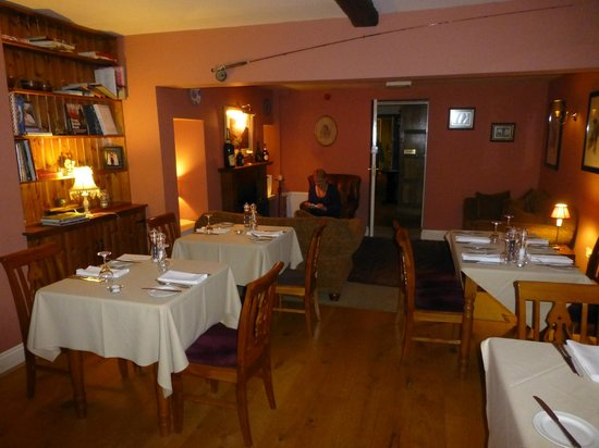 Sutton on the Forest, UK:                                     Function Room and Relaxation area nr fire