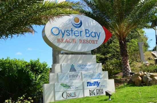 Oyster Bay Beach Resort:                   End of the road