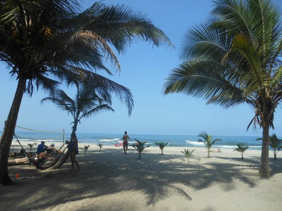 Magdalena Department, Kolumbia: No crowds on the beach