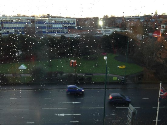 Park Inn by Radisson Nottingham : View from my room A60 road 