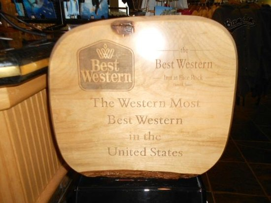 BEST WESTERN Inn at Face Rock:                   Best in the west&#39;