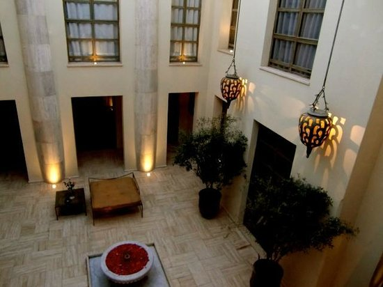 Evening at riad Joya