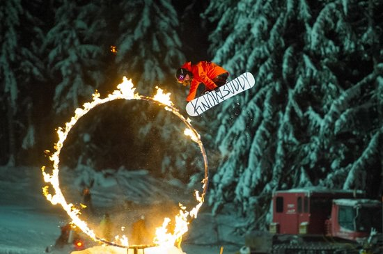 Whistler, Canada:                   Fire and Ice Show / Photo Credit: Mike Crane