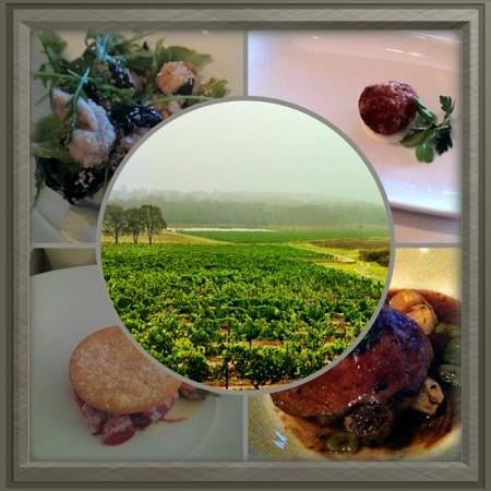 Spicers Vineyards Estate: some of the food we had at Botanica