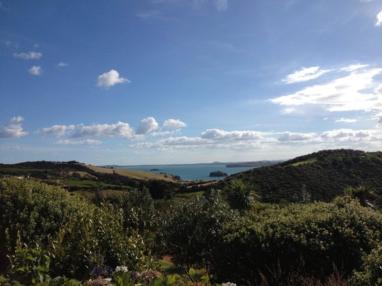 Wyspa Waiheke, Nowa Zelandia:                   The view