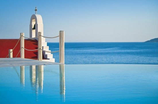 Agios Ioannis, Grecia: Private Pool Chapel