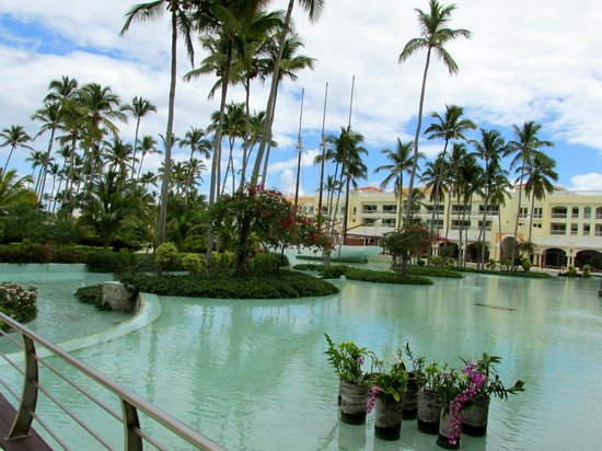 Iberostar Grand Hotel Bavaro:                   A view from the hotel lounge.