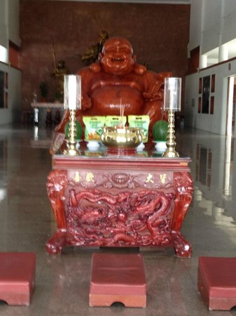 Mercure Batam:                   Laughing Buddha at the temple