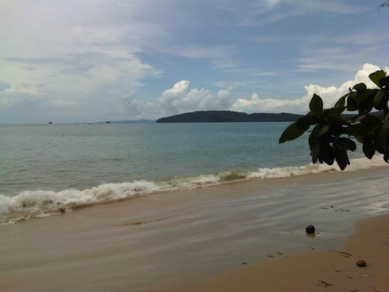 Aonang Buri Resort:                   Beachside across from the hotel