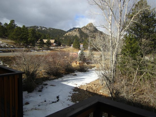 Murphy's River Lodge:                   The view from our deck