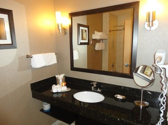 BEST WESTERN PREMIER Miami International Airport Hotel & Suites:                   banheiro
