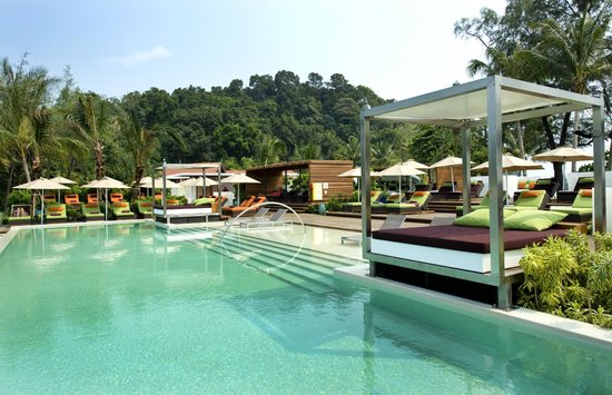Club Med Cherating Beach: Quiet Pool
