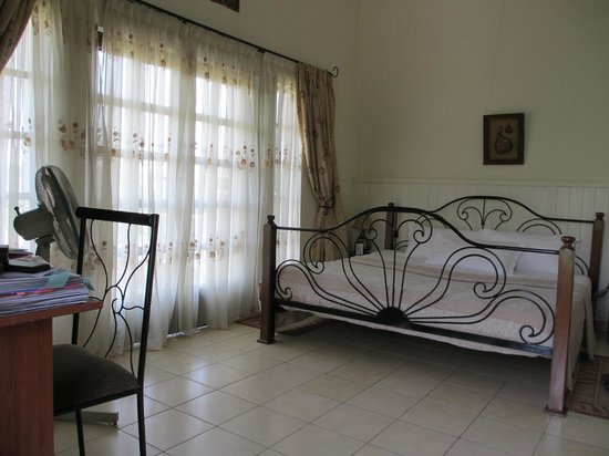 Golf Hills Residence:                   Double Room number 1 - ground floor and balcony
