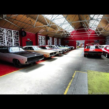 Muscle Car Alley Picture Of London Motor Museum Hayes