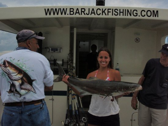 Bar Jack Fishing:                   All new Captains and Crew since 2013 - wonderful experince