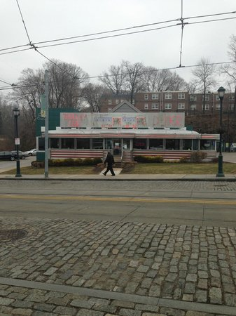Chestnut Hill Diner Brodheadsville Pennsylvania http://www.tripadvisor.com/Restaurant_Review-g60795-d463231-Reviews-Trolley_Car_Diner-Philadelphia_Pennsylvania.html