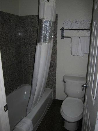 Rodeway Inn:                   Tub and toilet