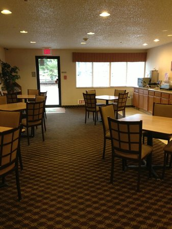 Quality Inn Denver-Boulder Turnpike: breakfast area
