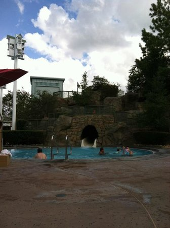 Disney's Saratoga Springs Resort & Spa:                   our pool area
