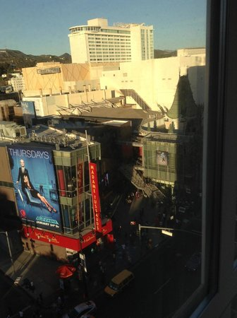 Hollywood Roosevelt Hotel - A Thompson Hotel: View of the Chinese Theater from my room
