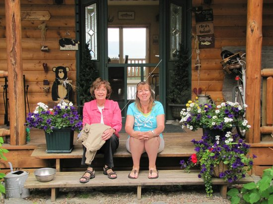 Outlook Inn Bed and Breakfast:                                     Mary Jean and Michelle (Owner)