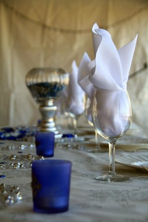 Southern Grace Bed and Breakfast:                   Decorations at the Reception